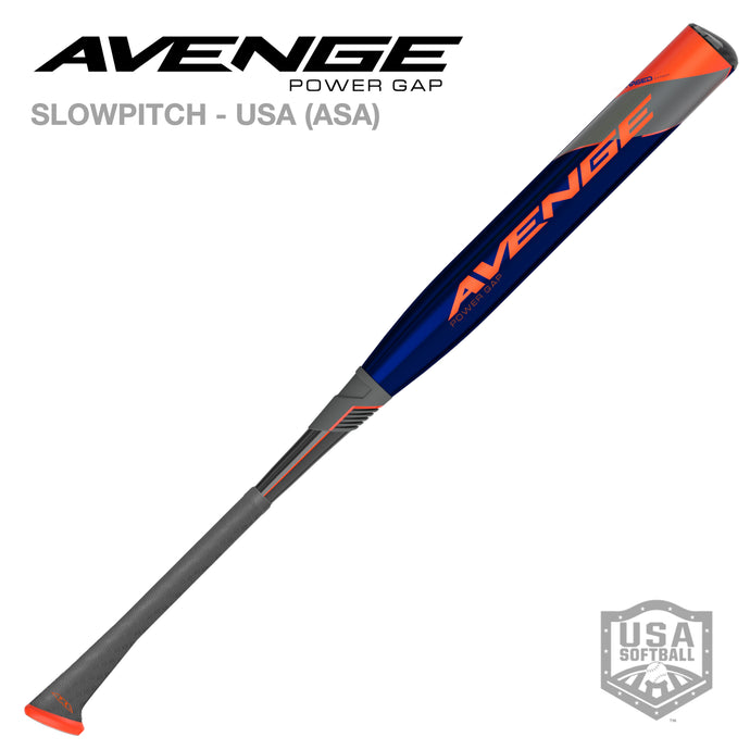 2022 AVENGE POWER GAP ASA (USA) SLOWPITCH SOFTBALL BAT