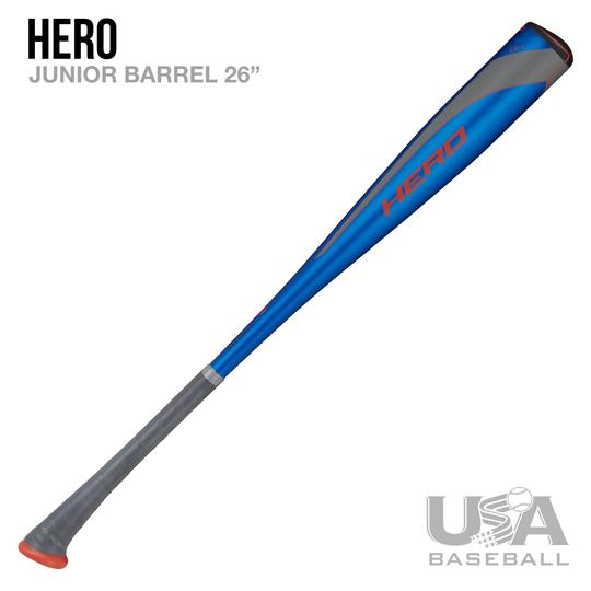 AXE BAT- 2020 HERO JUNIOR BARREL USABAT (-10) BASEBALL