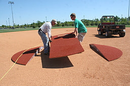 TPM- 10' 4 PIECE YOUTH MODEL GAME MOUND W/ARTIFICIAL TURF