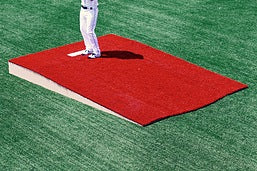TPM- 3 PIECE RED CLAY ON FIELD SINGLE BULLPEN MOUNDS