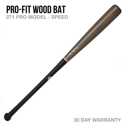 AXE BAT- PRO-FIT 271 MODEL WOOD BAT