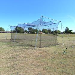 CIMARRON SPORTS- #24 ROOKIE BATTING CAGE WITH CABLE FRAME (30X12X10)
