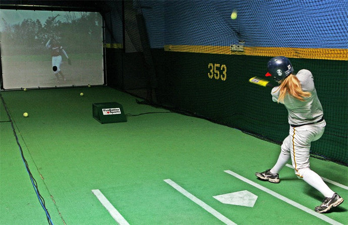 SOFTBALL HITTING SIMULATOR-  PRO BATTER PX3
