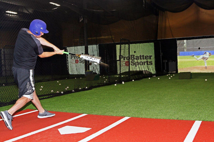BASEBALL HITTING SIMULATOR- PRO BATTER PX3