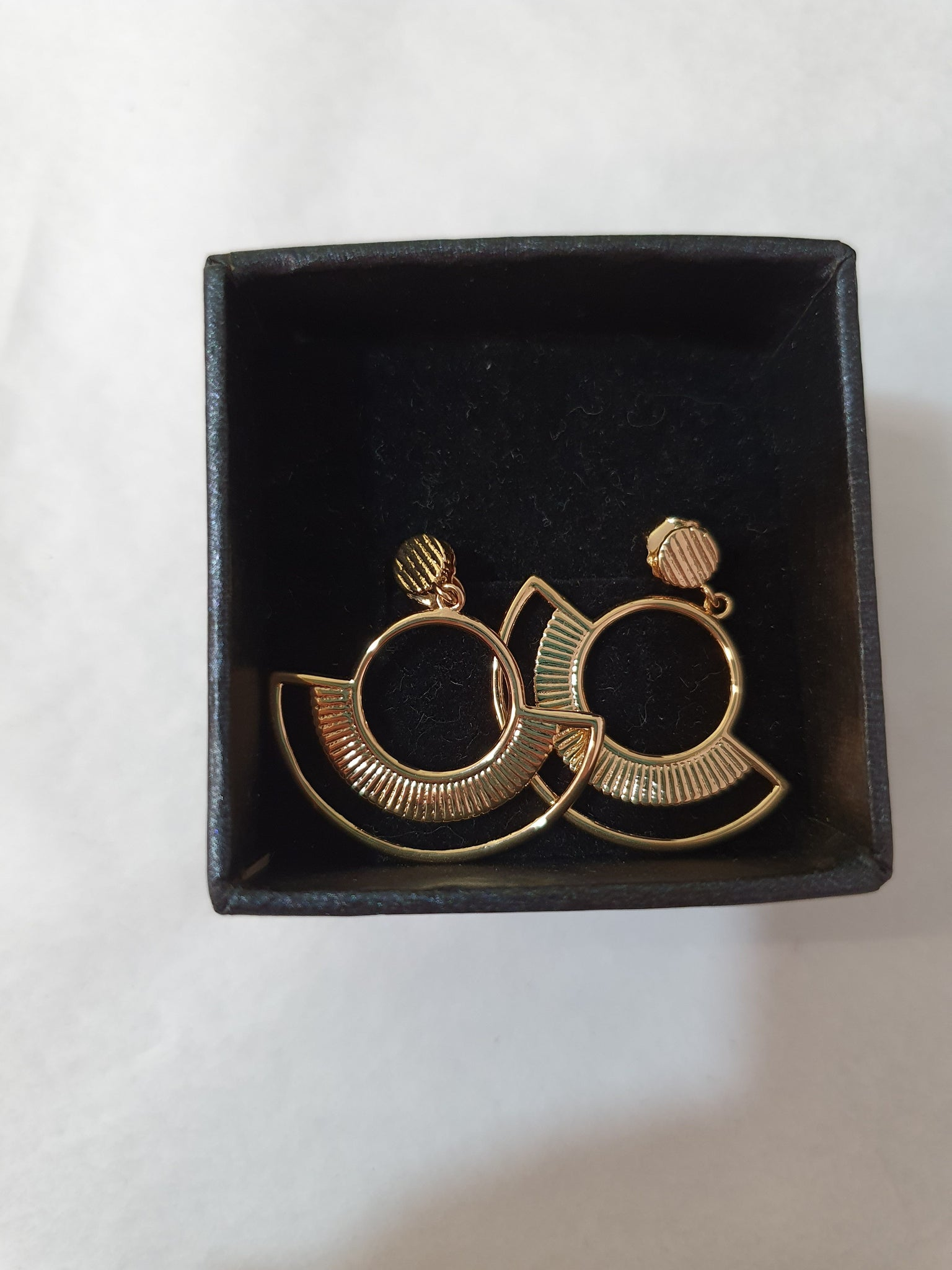 Some Gold Earrings