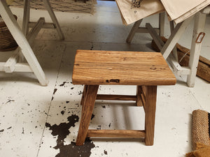 Large Wooden Stool