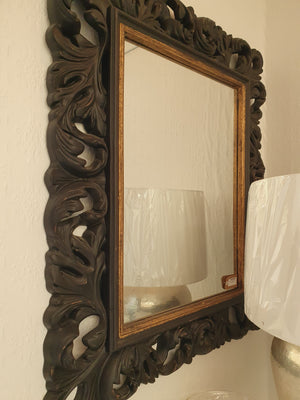 Black & Gold Mirror