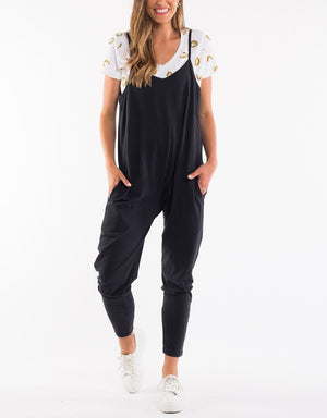 Black Harriet Jumpsuit