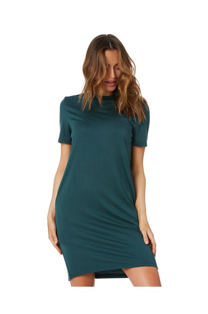Green Gravity Tee Dress