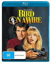 BIRD ON A WIRE (BLU)