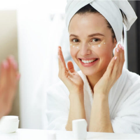 Apply gentle skin care products