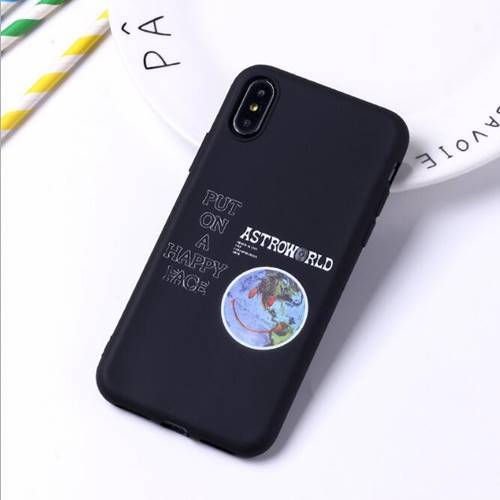 iPhone Astro Globe Black Case