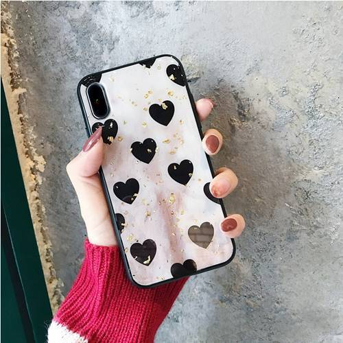 iPhone Black Bling Love Case