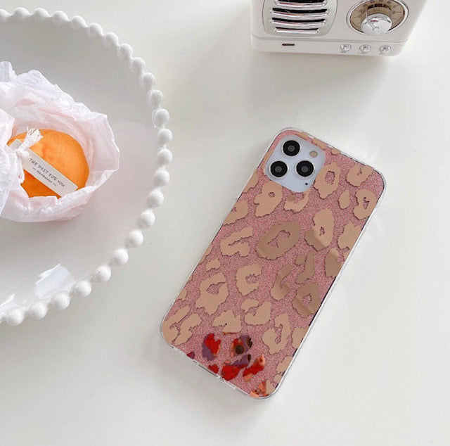 iPhone Rose Gold Bling Case