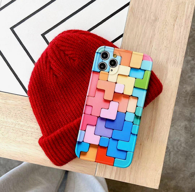 iPhone Colorful Pattern Case