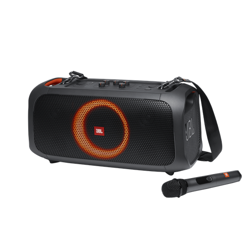 JBL PartyBox on-the-Go Portable Bluetooth Speaker - Black