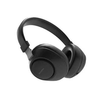 Porodo Soundtec Deep Sound Wireless Over-Ear Headphone - Black