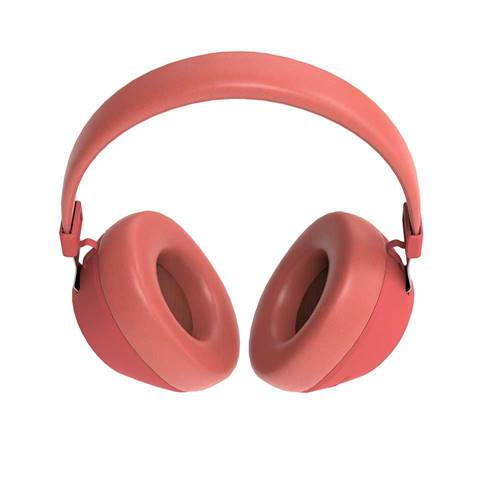 Porodo Soundtec Deep Sound Wireless Over-Ear Headphone - Red