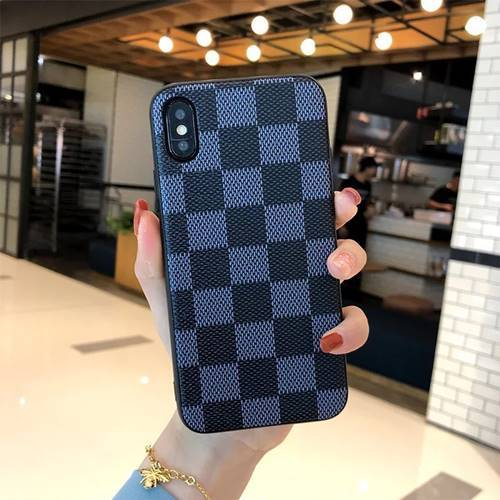 iPhone Vuitton Blue Case