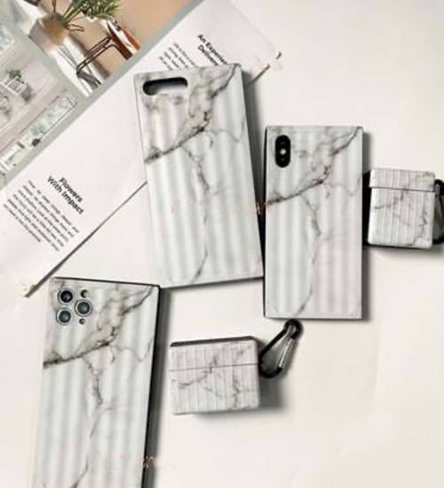 iPhone Whitish Marble Case