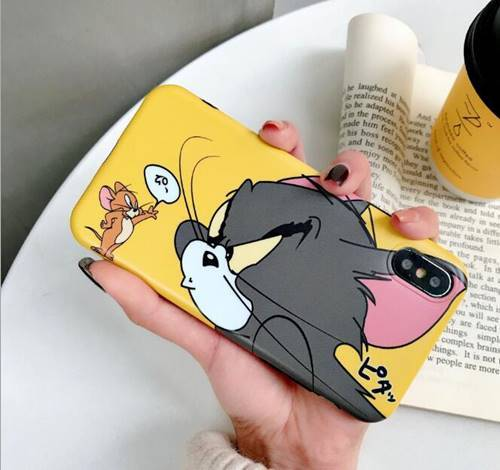 iPhone Jerry Yellow Case