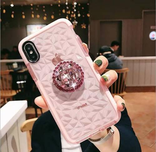 iPhone Blings Soft Pink Case