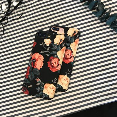 iPhone Dark Flower Case