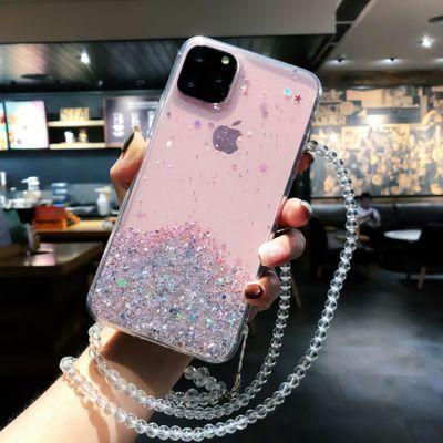 iPhone Transparent Bling Case