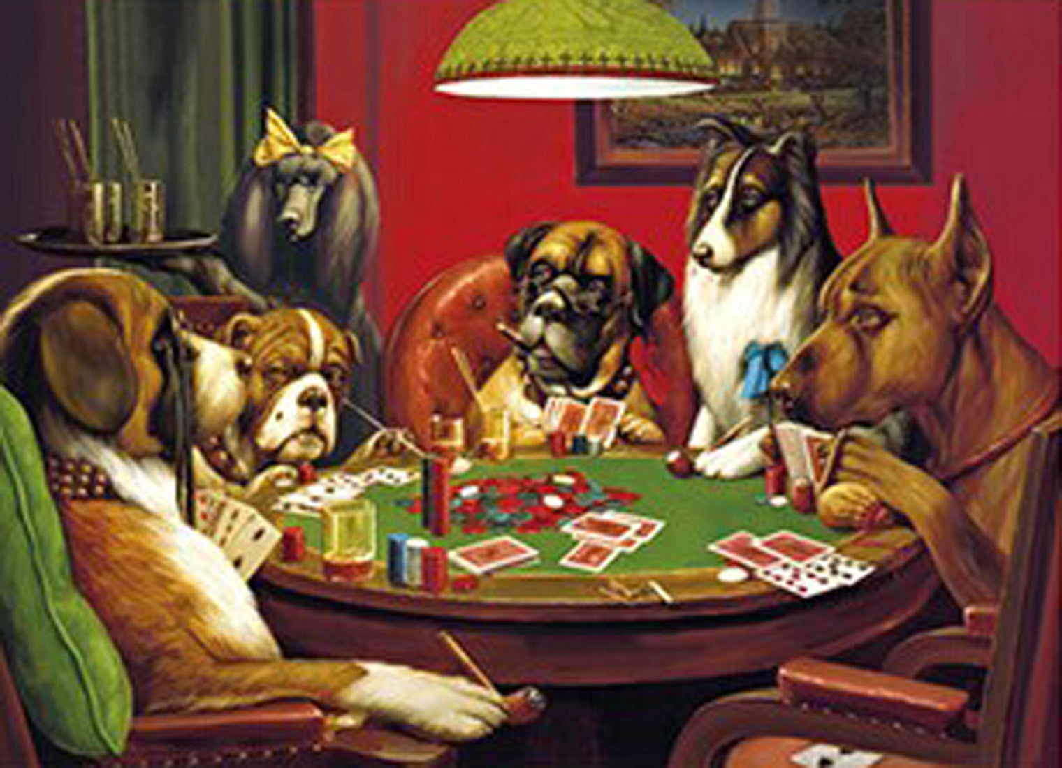 Poker dogs picture for sale gambling meaning in hindi