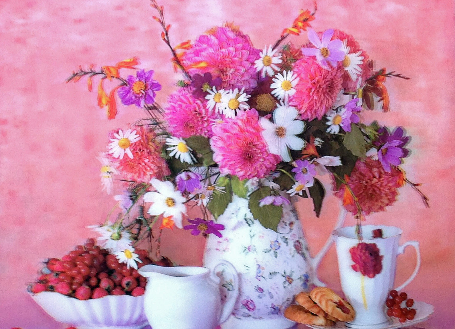 Flowers And Landscape 3d Pictures Free Shipping 3dddpictures