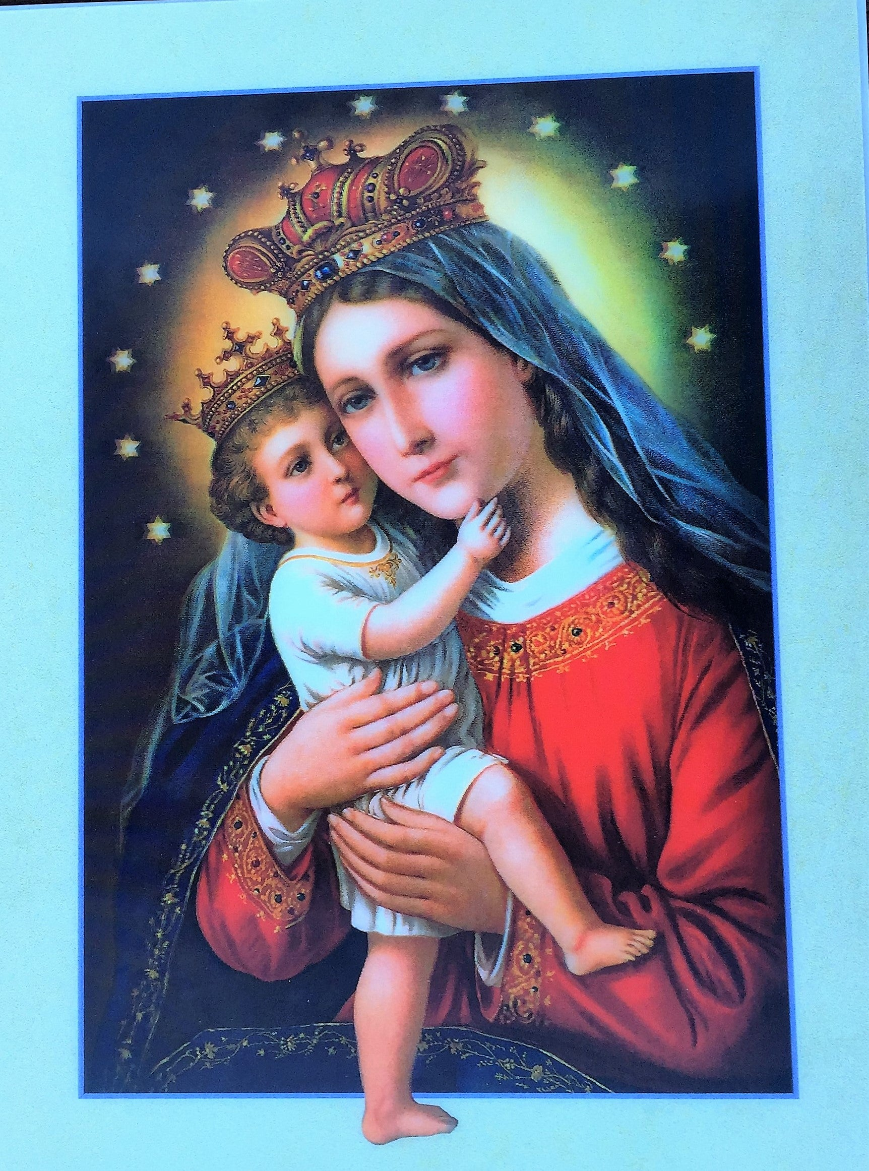 Pictures of jesus and mary photos