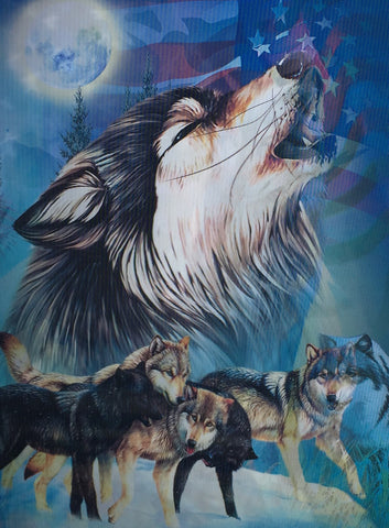 W 2 Wolves Mother Wolf With Pups 3d 3dddpictures Com