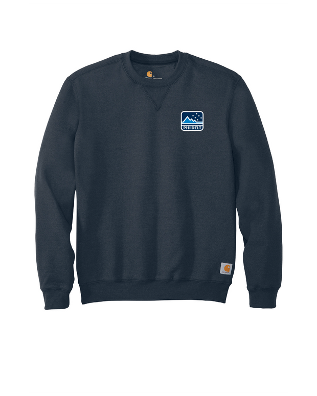 Phi Delt Outdoors Midweight Crewneck Sweatshirt by Carhartt