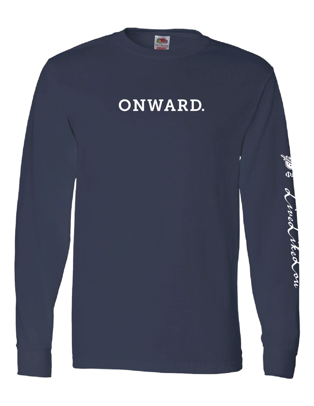 ONWARD. LiveLikeLou Long Sleeve Cotton T-Shirt