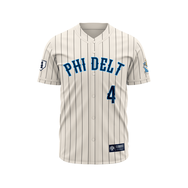 LIMITED PRE-ORDER Phi Delta Theta x LiveLikeLou Baseball Jersey for ALS Awareness