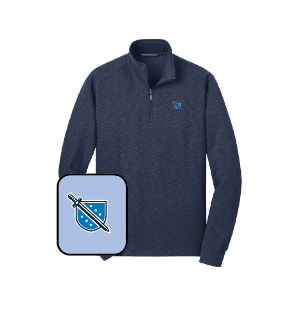 Phi Delta Theta Fleece Quarter Zip Pullover