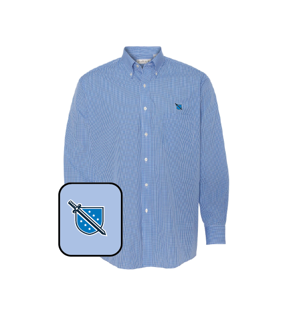 Phi Delta Theta Gingham Button Down Shirt