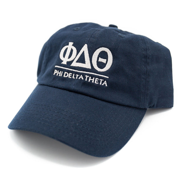Phi Delta Theta Letters Dad Hat