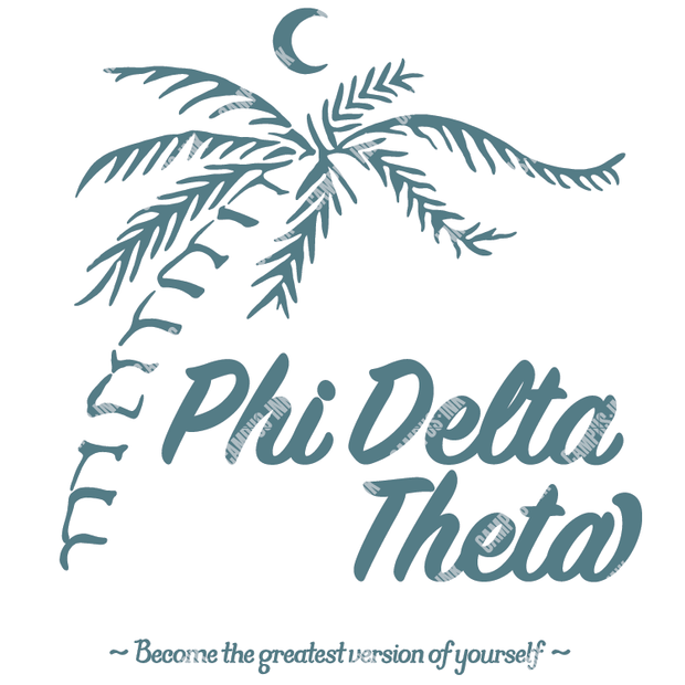 Phi Delta Theta Palm Tree Design