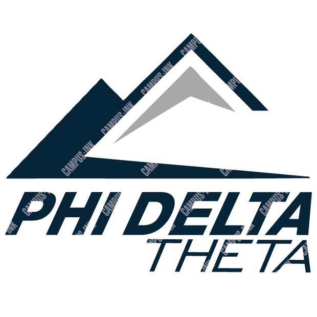 Phi Delta Theta Eagle Mountain Logo Design