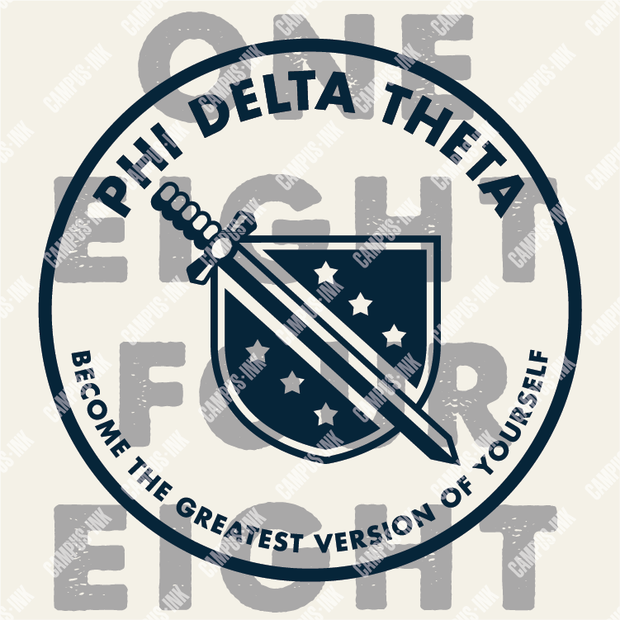 Phi Delta Theta One Eight Four Eight Design
