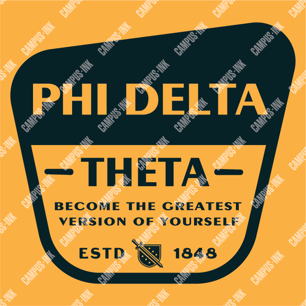 Phi Delta Theta Better Men Badge Design