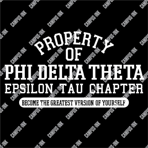 Phi Delta Theta Property Of Design