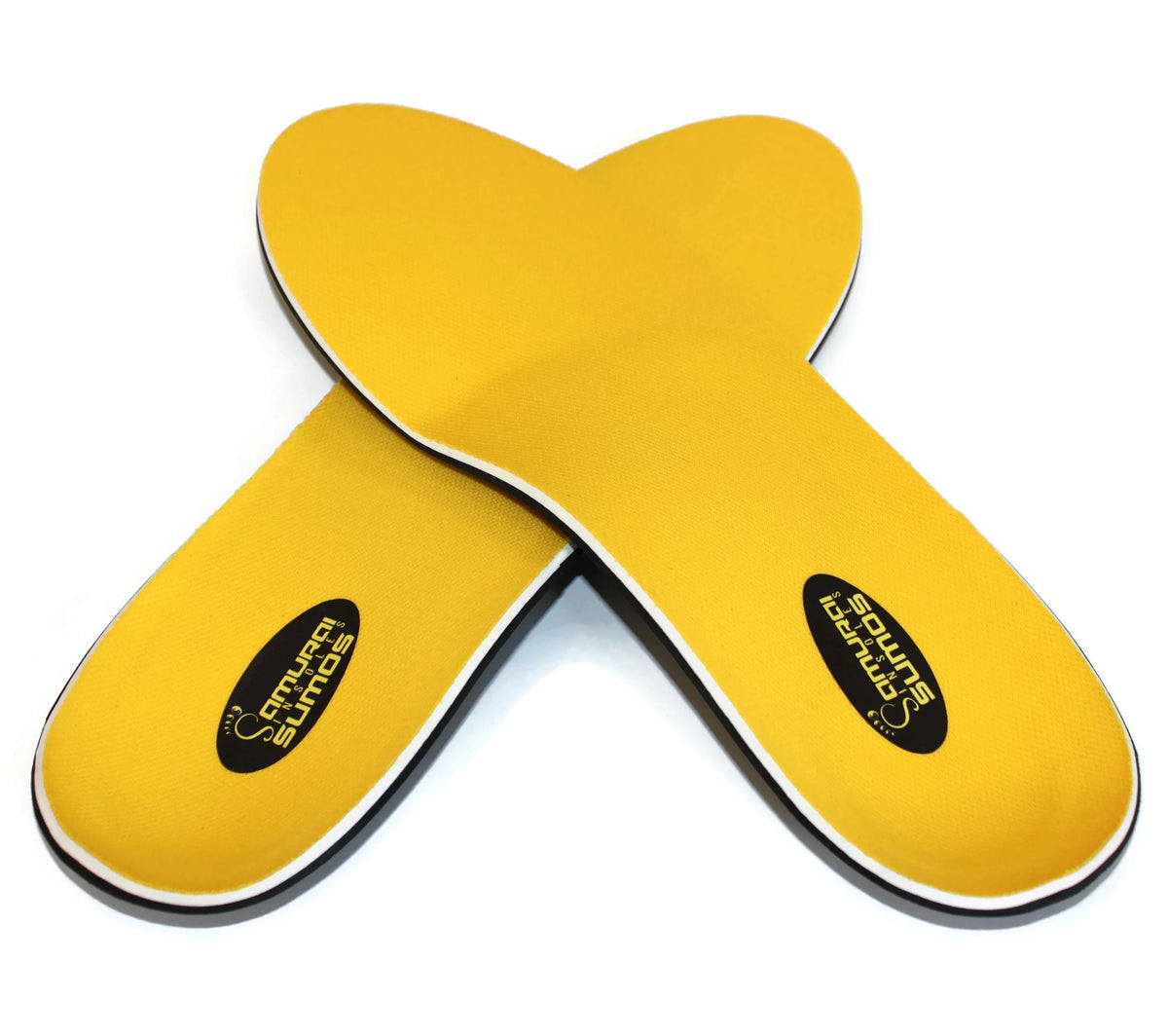 Sumos by Samurai Insoles®- Double Padded Orthotics for Flat Feet