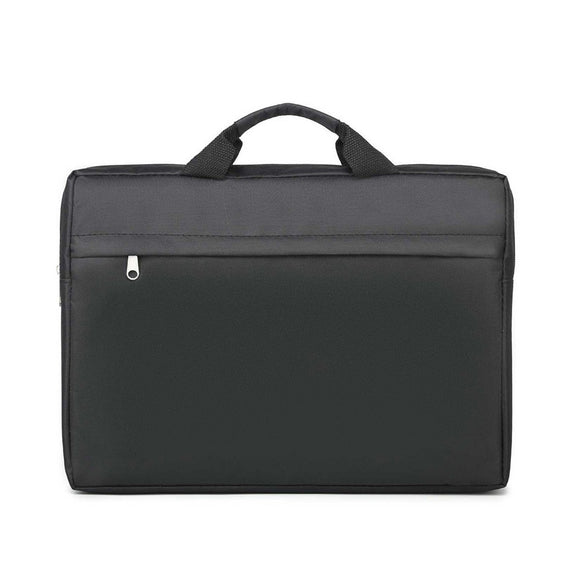 Business Document Notebook Laptop Bag Portable Men Handbag Oxford Document Organizer Briefcase Bag File Messenger Shoulder Bag
