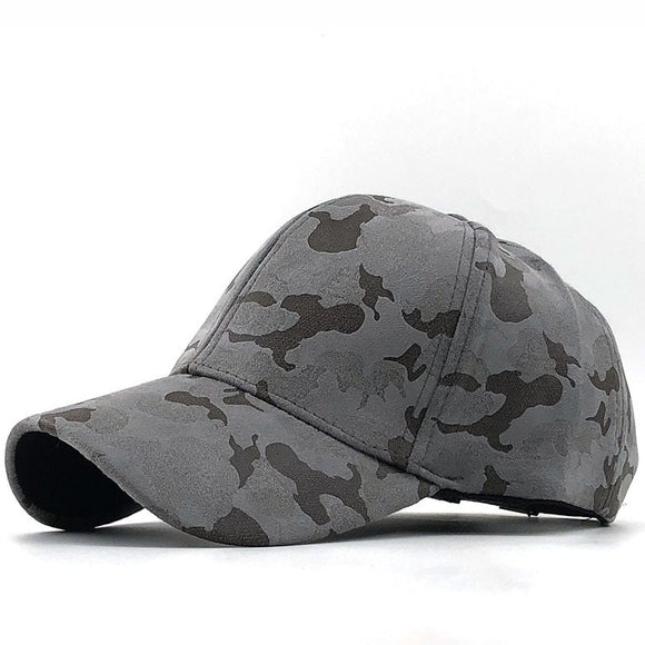 Women Suede Baseball Cap Camouflage Snapback Cap Brand Bone Hats For Men Casquette Sun Hat Gorras Adjustable Dad fishing Cap