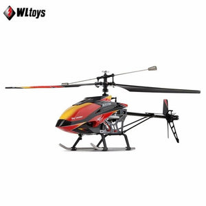 Wltoys V913 RC Helicopter 2.4G 4CH Single Blade Built-in Gyro Super Stable Flight High efficiency Brushless Motor Drone Model