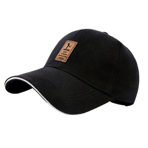 New Men's Golf Hat Baseball Caps Cotton Caps Autumn Hats Outdoor Sports Sunhats Twill Soft Light Comfortable Fashion Letter Cap