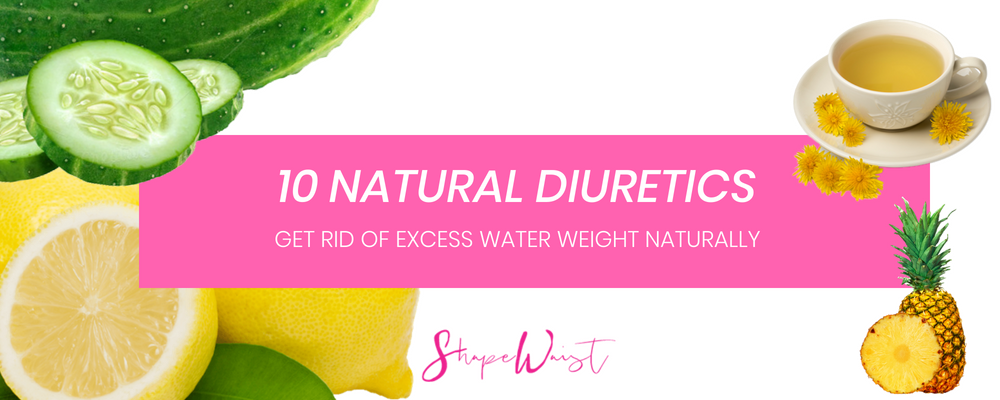 10 Natural Diuretics - Lose water weight naturally