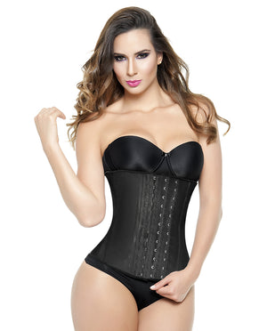 1823 - All Latex Waist Trainer - 3 Rows |  Long